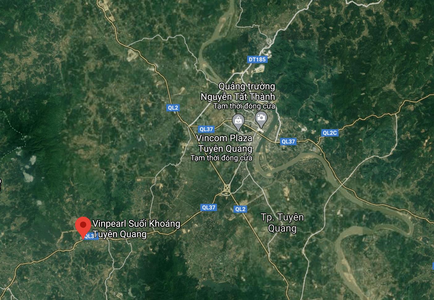 Dự án mới tại Tuyên Quang