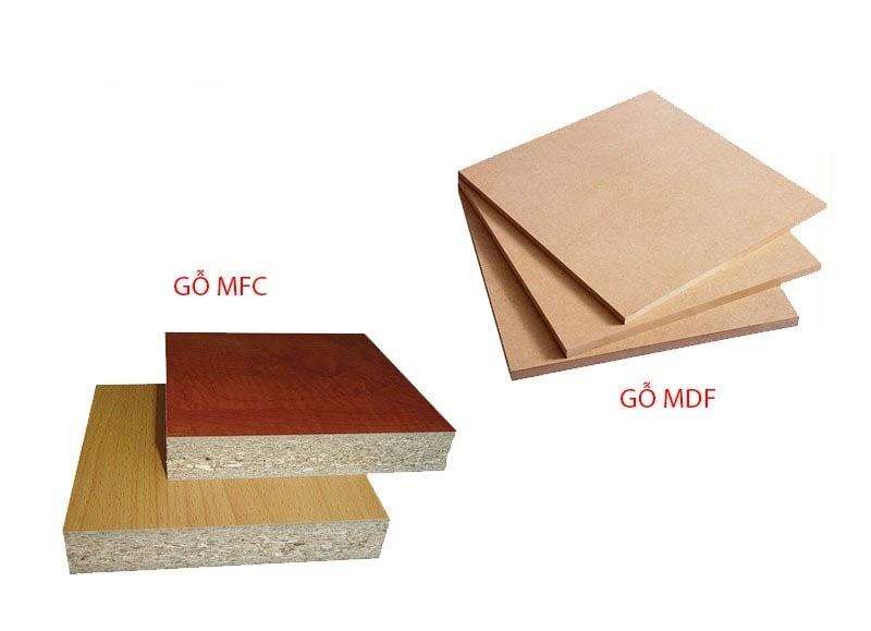 Phân biệt gỗ MDF và gỗ MFC