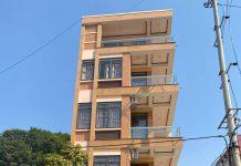 Hình ảnh thực tế ngôi nhà 5 tầng KĐT Thịnh Hưng, Tuyên Quang