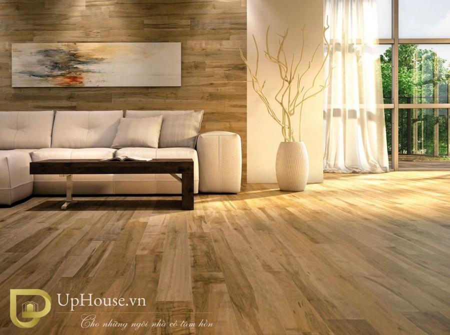 Ván sàn gỗ công nghiệp là vật liệu sử dụng phổ biến hiện nay