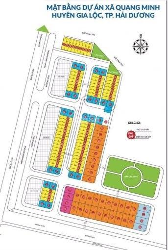 Đất nền dự án xã Quang Minh