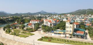 Một góc huyện Tiên Yên (Quảng Ninh)