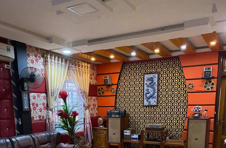 Nhà đất 4 tầng đường Quang Trung, TP Tuyên Quang